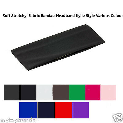 £2.75 • Buy Stretchy Headband Kylie Hair Band  Ladies Men's Sports Colour-Black Wide