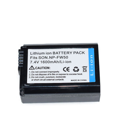 $ CDN13.62 • Buy New NP-FW50 Camera Battery For Sony NEX-3 NEX-5 NEX-6 Alpha 7R A35 A55 A6000