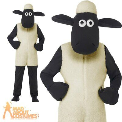 £26.99 • Buy Child Shaun The Sheep Costume Boys Girls Book Week Day Kids Fancy Dress Outfit