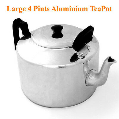 £25.99 • Buy Professional Aluminium Large Catering Teapot Kettle @Ideal For Commercial / Home