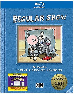 REGULAR SHOW : COMPLETE SEASON 1 & 2 -  Blu Ray - Sealed Region Free • 33.99£