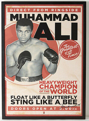 £4.69 • Buy A3 Size - Muhammed Ali Vintage Boxing Wall Poster Print Art - #02