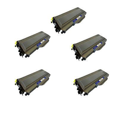 Compatible 5 Black Toner For Brother HL-2140 2140W 2150 2150N 2170 2170W TN-2120 • 31.33£