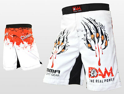 AU34.19 • Buy DAM Pro MMA Fight MMA Shorts UFC Cage Fight Grappling Muay Thai Boxing Gear, NEW