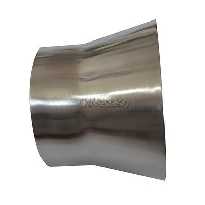 AU44.41 • Buy 4  To 3'' OD 2mm Thick 3  Long Weld On Aluminum Reducer Pipe