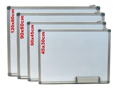 Office School Home Magnetic Whiteboard Dry Wipe Drawing Board Small Medium Large • 59.99£