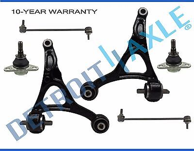 (6pc) 2003-2014 Volvo XC90 Front Lower Control Arm Ball Joint Sway Bar Link Kit • 94.26$