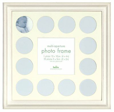 £91.99 • Buy Baby MY FIRST YEAR Photo Frame - Multi PICTURE DISPLAY For 12 Months WHITE