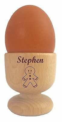 £12.95 • Buy Personalised Gingerbread Man Egg Cup 110942 Easter Birthday Christmas Any Name