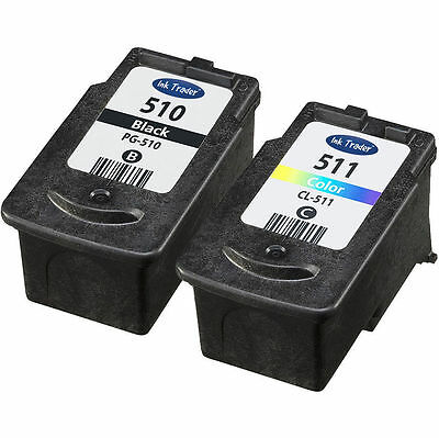Canon PG510 & CL511 Ink Cartridges For Canon Pixma MP495 Printers • 24.95£