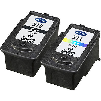 Canon PG510 & CL511 Ink Cartridges For Canon Pixma MP272 Printers • 24.95£