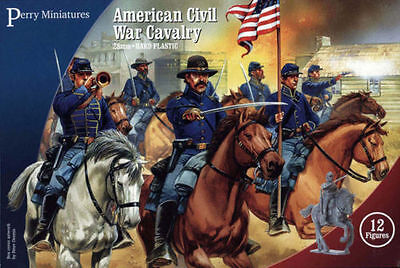 £18.99 • Buy American Civil War Cavalry - Perry Miniatures - 28mm - Acw