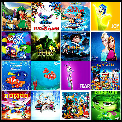 £4.85 • Buy A3/A4 Size * KIDS CHILDREN MOVIE Cartoon Animation POSTERS Print Art * Gift  #5