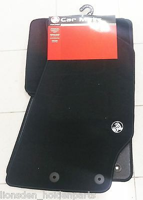 AU159 • Buy Genuine Holden New Black Floor Mats Set Of 4 To Suit VT VX VY VZ Commodore