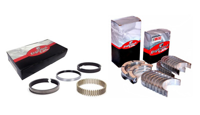 $149.99 • Buy Moly Pistons Rings W/ Main & Rods Bearings For 2005-2014 Chevrolet LS2 6.0L