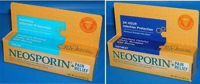 NEOSPORIN PLUS Maximum Strength Pain Relief Cream / Ointment 0.5oz 1oz First Aid • 9.37£