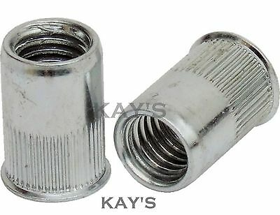 £3.67 • Buy Stainless Steel Countersunk Rivnuts Rivet Nuts Threaded Inserts M4 M5 M6 M8 M10