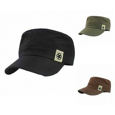 £5.99 • Buy Military Style Army Cap Brushed Premium Cotton Hat- 3 Great Colours-Hat Tricks