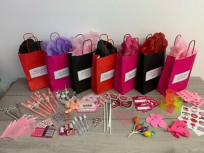Personalised Hen Party Favour Filled Gift Bag -create Your Own Choose 8 Items • 2.60£