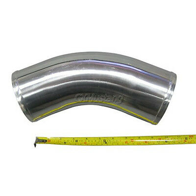 AU63.86 • Buy Universal 4  OD Aluminum Turbo Intercooler Intake Pipe 45 Degree 10  Long