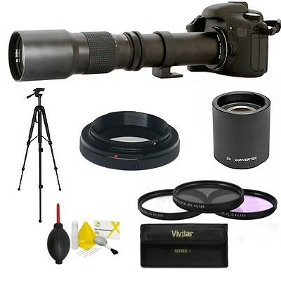 $ CDN154.37 • Buy  HD TELEPHOTO ZOOM LENS 500mm -1000mm FOR SONY ALPHA A6300 FAST SHIPPING