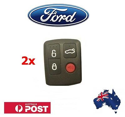 AU17.95 • Buy 2 X Ford Remote BA/BF Falcon Sedan/Wagon Keyless Car Remote 4 Button Keypad