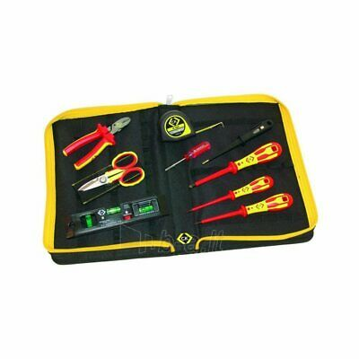 CK Tools 595002 - Electrician Core Tool Kit In Durable Polyester Zipped Folder • 107.28£