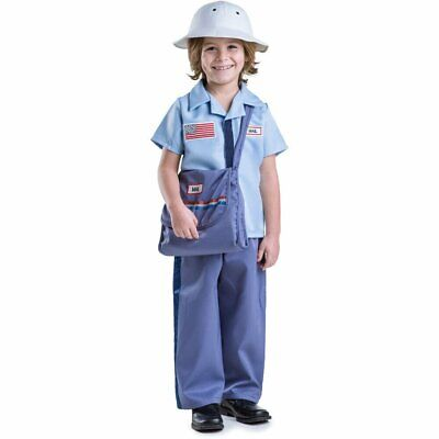 $29.99 • Buy Mailman Costume For Kids - Mail Carrier Postman For Boys By Dress Up America