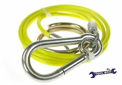 Breakaway Cable / Yellow Safety Cable, Trailer / Caravan Ifor Williams Horse Box • 3.95£