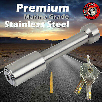AU48 • Buy Hitch Pin Lock Tow Ball Mount Bar Tongue Lock Stainless Steel For Marine Trailer