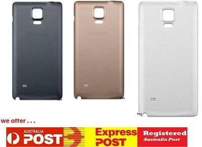 AU7.49 • Buy Premium Samsung Galaxy Note 4 3 Back Rear Glass Housing Battery Door Cover Case