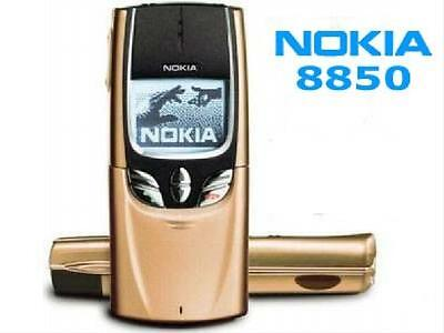 English Russian Arabic Keyboard  Nokia 8850 Mobile Phone Silver 2G GSM 900/1800 • 38.36£