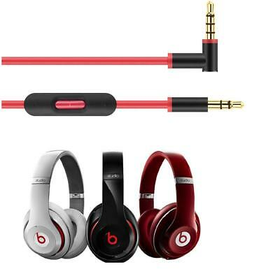 AU13.99 • Buy Headphone Control Talk Cable 2.0 For Beats By DR.Dr Studio Mixr Solo HD*1Yr Wty*