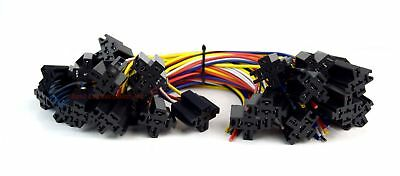$ CDN37.52 • Buy 25 Pack Economy 12  5-Wire Relay Harness Socket W/ Leads 5-Pin Install Bay