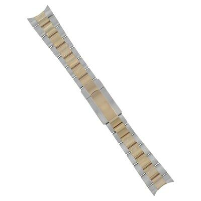 $ CDN309.58 • Buy 20mm 14k Gold Two Tone Oyster Watch Band For Rolex Submariner 116613 116613lb Fl