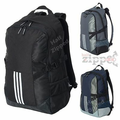 $54.50 • Buy Adidas Backpack Laptop Bag A300 25.5L Computer Sleeve School Bookbag 20x13x6
