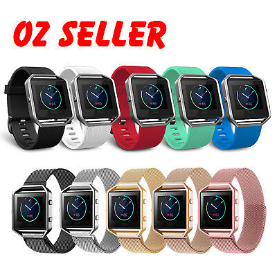 AU14.95 • Buy Various Luxury Band Replacement Wristband Watch Strap Bracelet For Fitbit Blaze