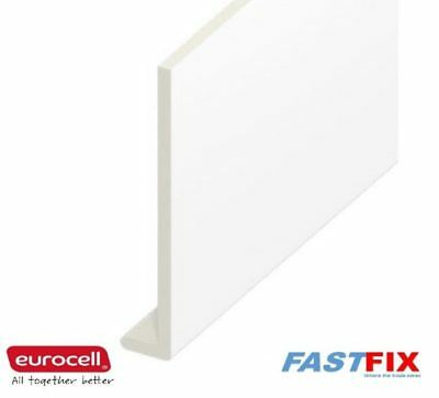 Fascia Capping Board 9mm 5M Length Eurocell UPVC White Various Sizes • 33.99£