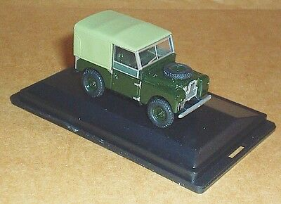 Oxford Diecast Land Rover Series 1 88  Canvas Bronze Green 1:76 Scale Model Car • 7.30£