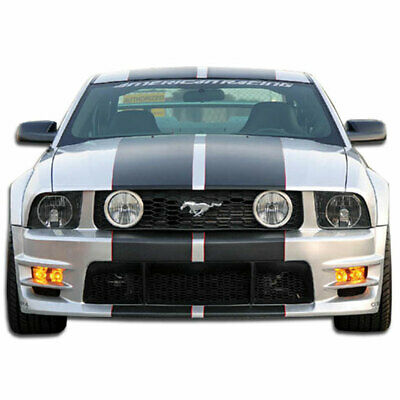 $340 • Buy GT500 Wide Body Front Bumper Cover 1 Piece Fits Ford Mustang 05-09 Duraflex
