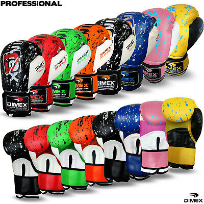 $ CDN24 • Buy Professional Boxing Gloves Sparring Glove Punch Bag Training MMA Mitts Dimex