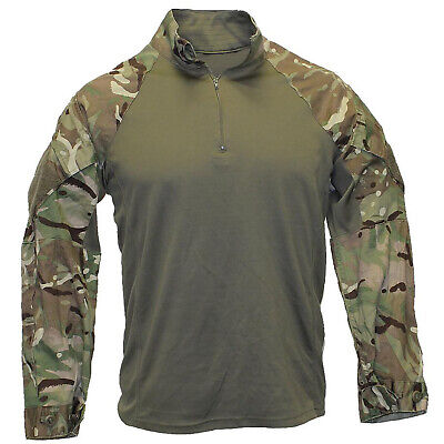 Mtp Green Under Armour Combat Shirt-ubacs Genuine British Army Warm Weather • 20£