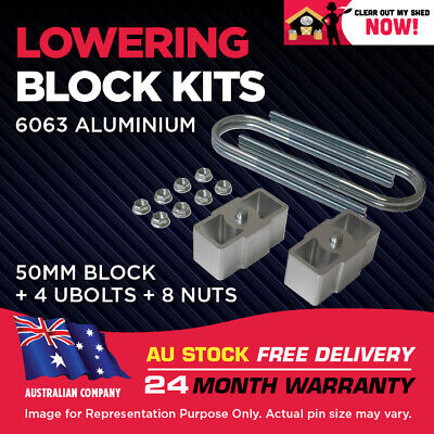 AU84.95 • Buy Lowering Block Kit Mitsubishi Triton 2WD ME MF MG MH MJ MK 2  (50mm)