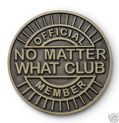 $5.99 • Buy   No Matter What Club  AA/NA/12 Step Recovery Program Bronze Coin /Token/Chip
