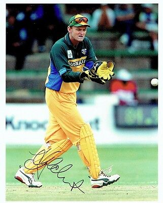 AU114 • Buy ADAM GILCHRIST  - Signed Colour Photo