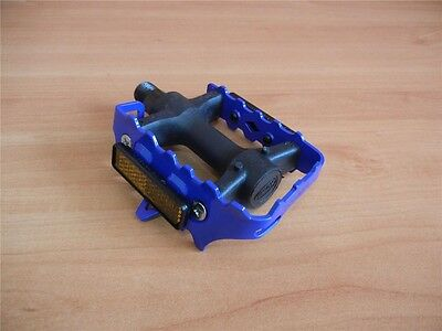 $13.50 • Buy * Blue Union Cage Pedals 9/16'' Fixie- Road Bike-Mountain Bike