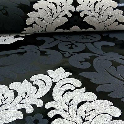 Creation Damask Pattern Wallpaper Floral Leaf Embossed Glitter Motif Roll 313959 • 11.99£