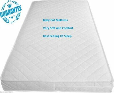 £44.99 • Buy New Baby All Size Cot Bed/toddler Quilted Fully Breathable Waterproof Mattresses