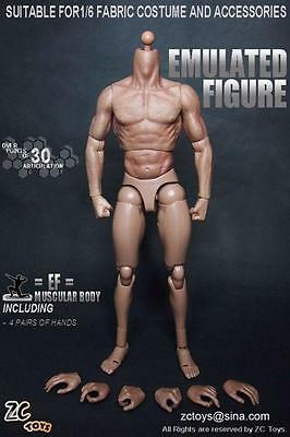 £19.99 • Buy ZC Toys 1/6 Scale Muscle Muscular Nude Action Figure Body Fit Wolverine Head Hot