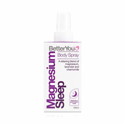 Better You BetterYou Magnesium Oil Goodnight Spray 100ml • 12.19£